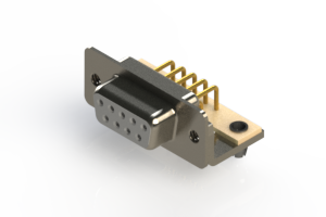 630-M09-640-WT3 - Right Angle D-Sub Connector