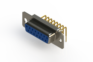 630-M15-240-LN1 - Right Angle D-Sub Connector