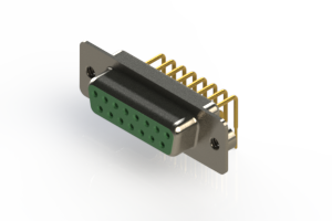 630-M15-340-GN2 - Right Angle D-Sub Connector