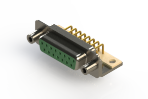 630-M15-340-GT6 - Right Angle D-Sub Connector