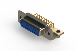 630-M15-340-LN3 - Right Angle D-Sub Connector