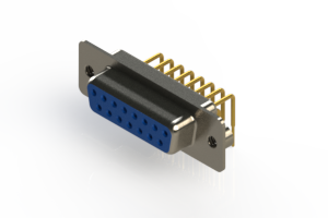 630-M15-340-LT2 - Right Angle D-Sub Connector