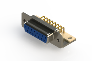 630-M15-340-LT4 - Right Angle D-Sub Connector