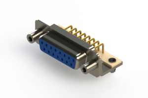 630-M15-340-LT5 - Right Angle D-Sub Connector