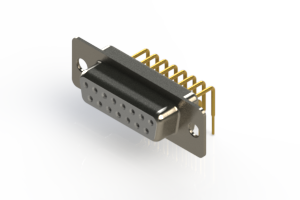 630-M15-340-WT1 - Right Angle D-Sub Connector