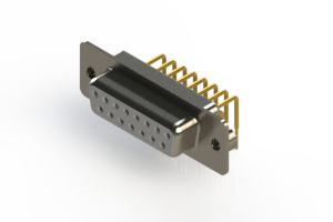630-M15-340-WT2 - Right Angle D-Sub Connector