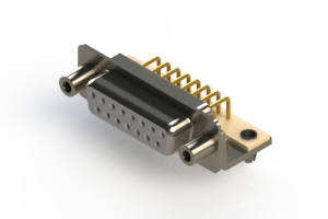 630-M15-340-WT5 - Right Angle D-Sub Connector