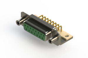 630-M15-640-GT6 - Right Angle D-Sub Connector