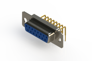 630-M15-640-LN1 - Right Angle D-Sub Connector