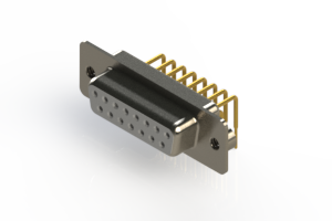 630-M15-640-WN2 - Right Angle D-Sub Connector