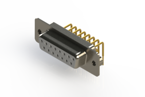 630-M15-640-WT2 - Right Angle D-Sub Connector