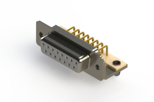 630-M15-640-WT3 - Right Angle D-Sub Connector