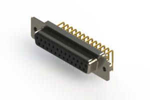630-M25-240-BN2 - Right Angle D-Sub Connector