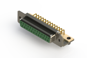 630-M25-240-GT3 - Right Angle D-Sub Connector