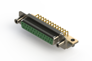 630-M25-240-GT5 - Right Angle D-Sub Connector