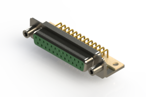 630-M25-240-GT6 - Right Angle D-Sub Connector