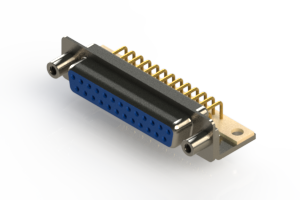 630-M25-240-LN6 - Right Angle D-Sub Connector