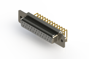 630-M25-240-WN2 - Right Angle D-Sub Connector