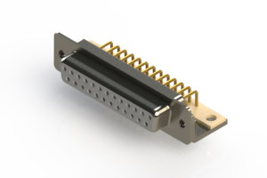 630-M25-240-WN4 - Right Angle D-Sub Connector