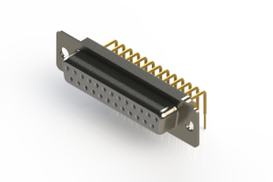630-M25-240-WT1 - Right Angle D-Sub Connector