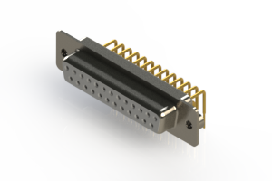 630-M25-240-WT2 - Right Angle D-Sub Connector
