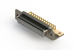 630-M25-240-WT4 - Right Angle D-Sub Connector