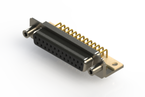 630-M25-340-BN6 - Right Angle D-Sub Connector