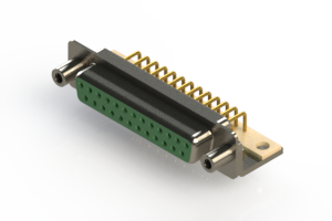 630-M25-340-GN6 - Right Angle D-Sub Connector