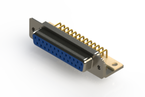 630-M25-340-LT4 - Right Angle D-Sub Connector