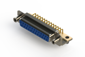 630-M25-340-LT5 - Right Angle D-Sub Connector