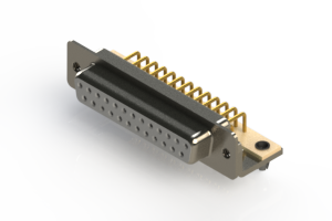 630-M25-340-WN3 - Right Angle D-Sub Connector