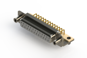 630-M25-340-WN5 - Right Angle D-Sub Connector