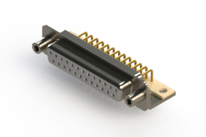 630-M25-340-WT6 - Right Angle D-Sub Connector