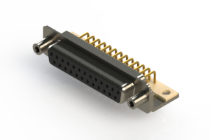 630-M25-640-BT6 - Right Angle D-Sub Connector