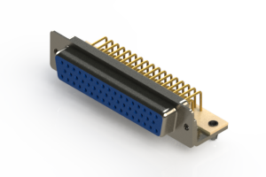 630-M50-340-LN3 - Right Angle D-Sub Connector