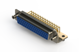 630-M50-340-LN5 - Right Angle D-Sub Connector