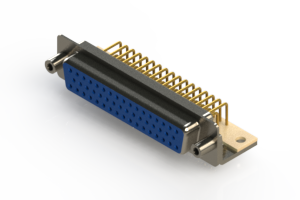 630-M50-340-LN6 - Right Angle D-Sub Connector