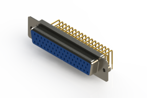630-M50-340-LT2 - Right Angle D-Sub Connector