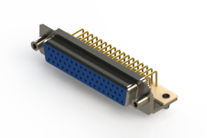 630-M50-340-LT5 - Right Angle D-Sub Connector