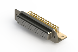 630-M50-340-WN4 - Right Angle D-Sub Connector