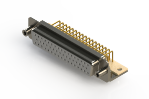 630-M50-340-WT6 - Right Angle D-Sub Connector