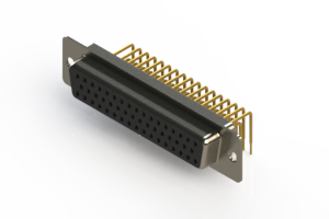 630-M50-640-BN1 - Right Angle D-Sub Connector