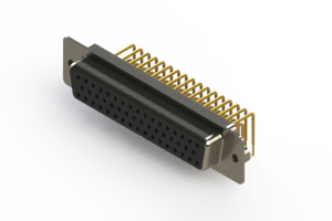 630-M50-640-BN2 - Right Angle D-Sub Connector