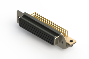 630-M50-640-BN3 - Right Angle D-Sub Connector
