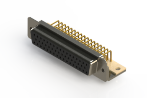 630-M50-640-BN4 - Right Angle D-Sub Connector