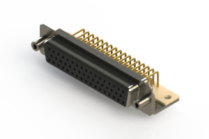 630-M50-640-BN6 - Right Angle D-Sub Connector
