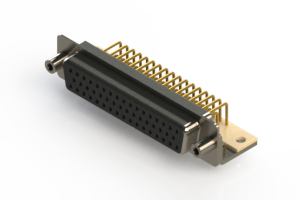 630-M50-640-BT6 - Right Angle D-Sub Connector