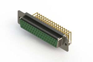 630-M50-640-GN2 - Right Angle D-Sub Connector