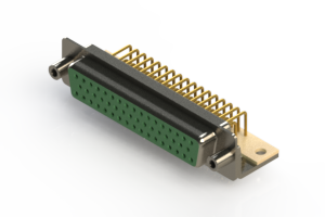 630-M50-640-GN6 - Right Angle D-Sub Connector