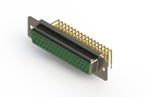 630-M50-640-GT1 - Right Angle D-Sub Connector